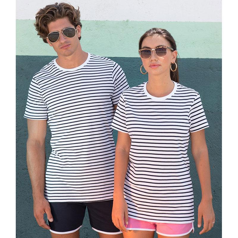 SF Unisex Striped T-Shirt