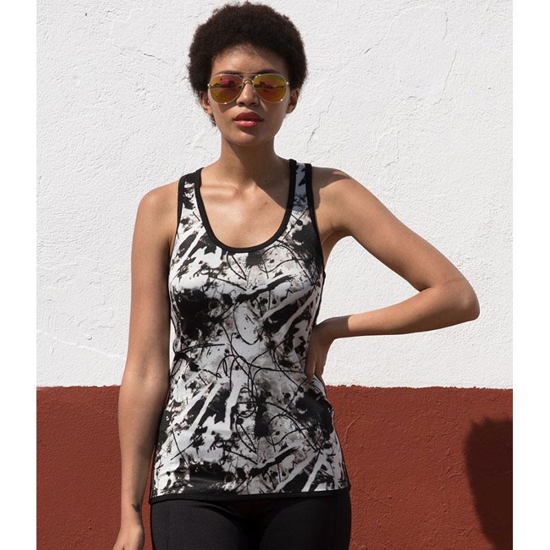 SF Ladies Reversible Workout Vest