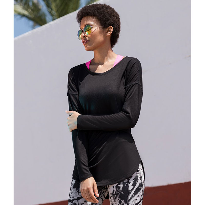 SF Ladies Long Sleeve Slounge Top
