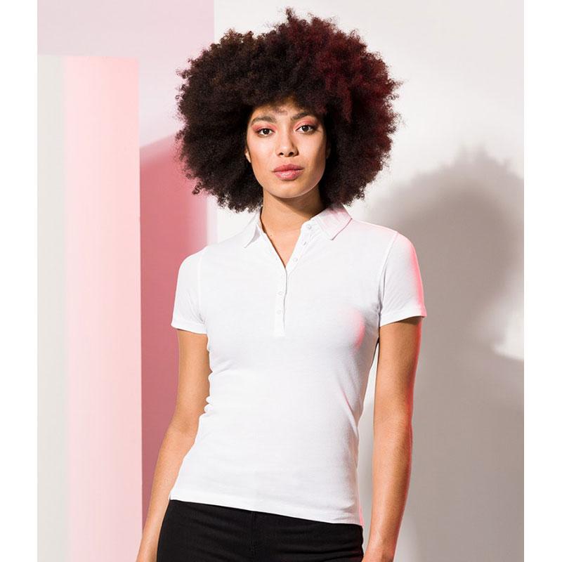 SF Ladies Stretch Piqué Polo Shirt