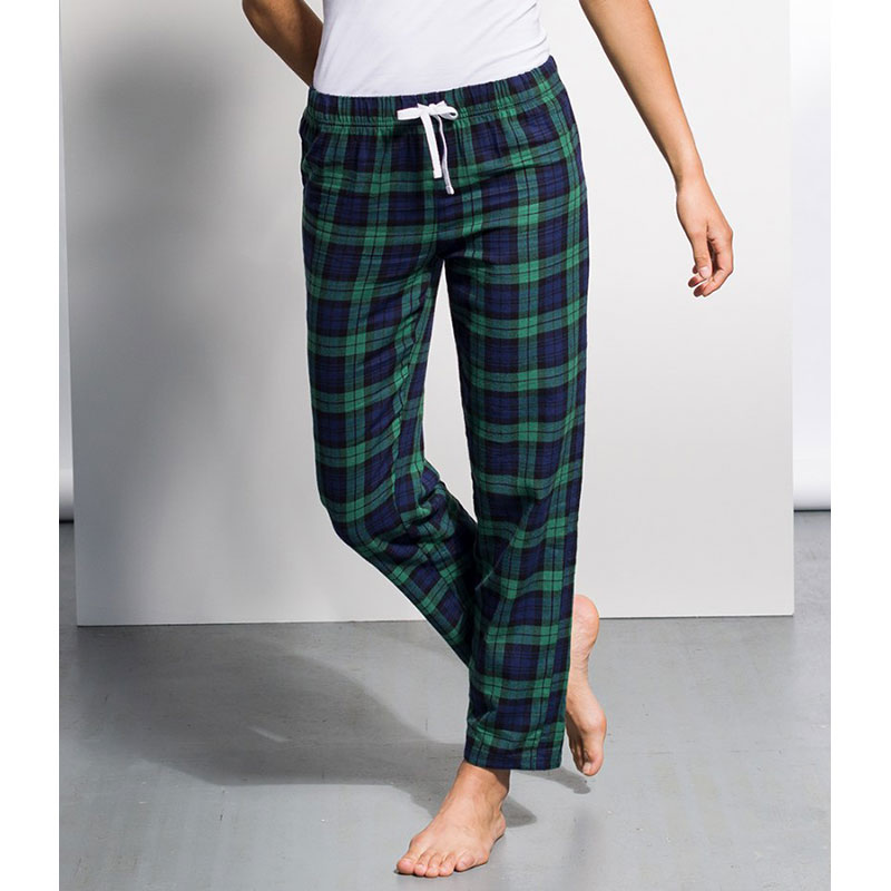 SF Ladies Tartan Lounge Pants