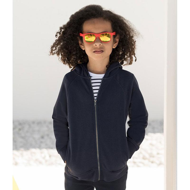 SF Minni Kids Zip Hooded Sweatshirt