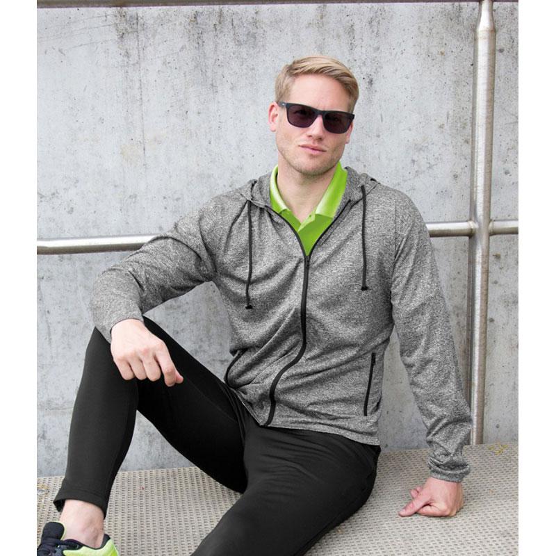Spiro Hooded T-Shirt Jacket