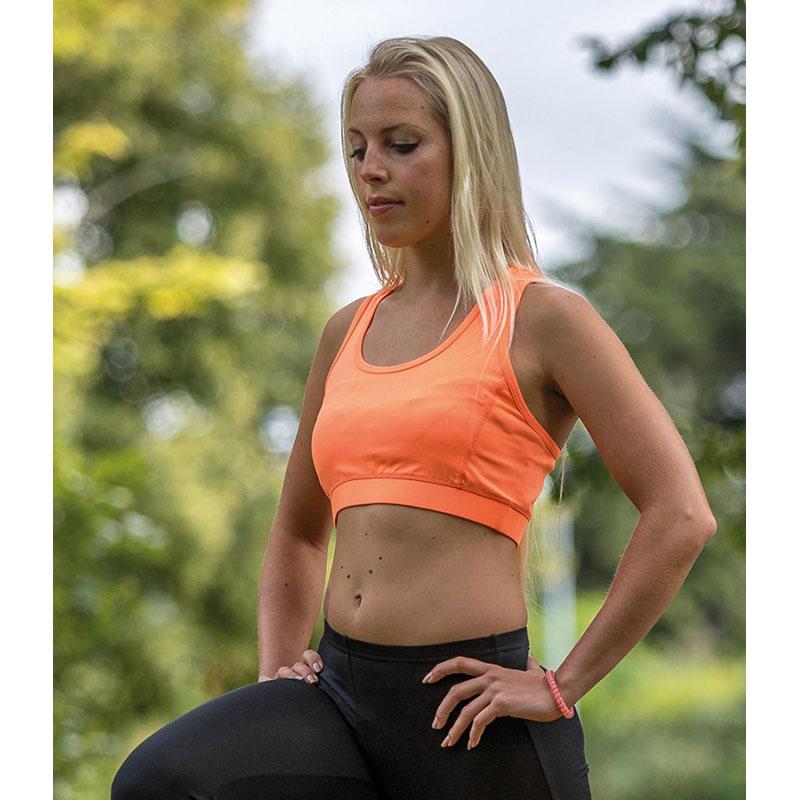 Spiro Impact Ladies Softex® Crop Top