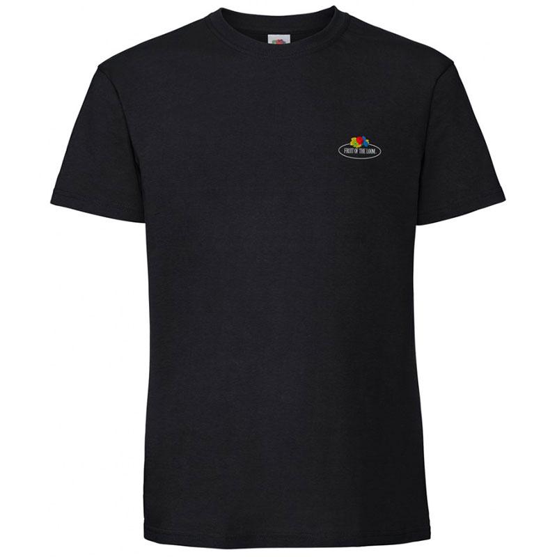 Fruit of the Loom Vintage Small Logo Premium T-Shirt
