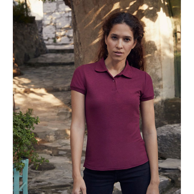 Fruit of the Loom Lady Fit Piqué Polo Shirt