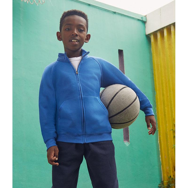 Fruit of the Loom Kids Classic Sweat Jacket