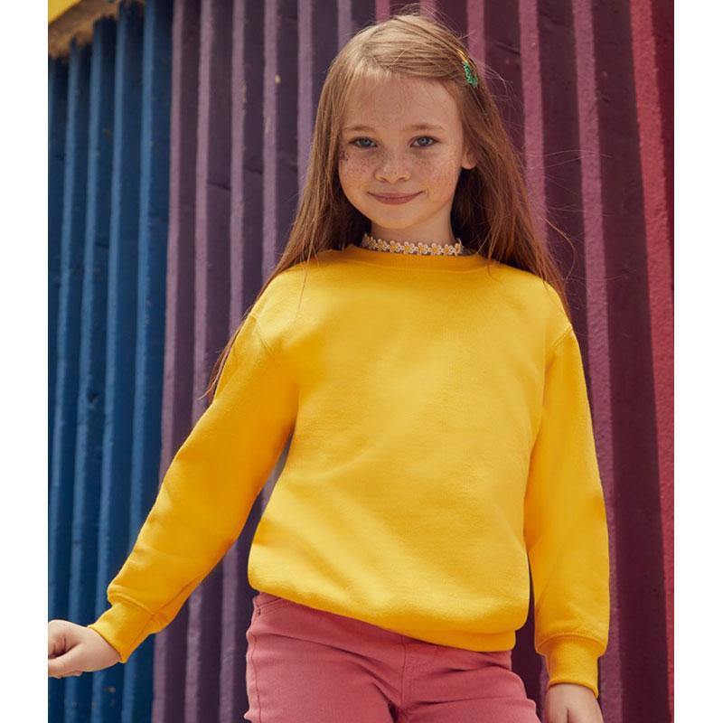 Fruit of the Loom Kids Classic Drop Shoulder Sweatshirt