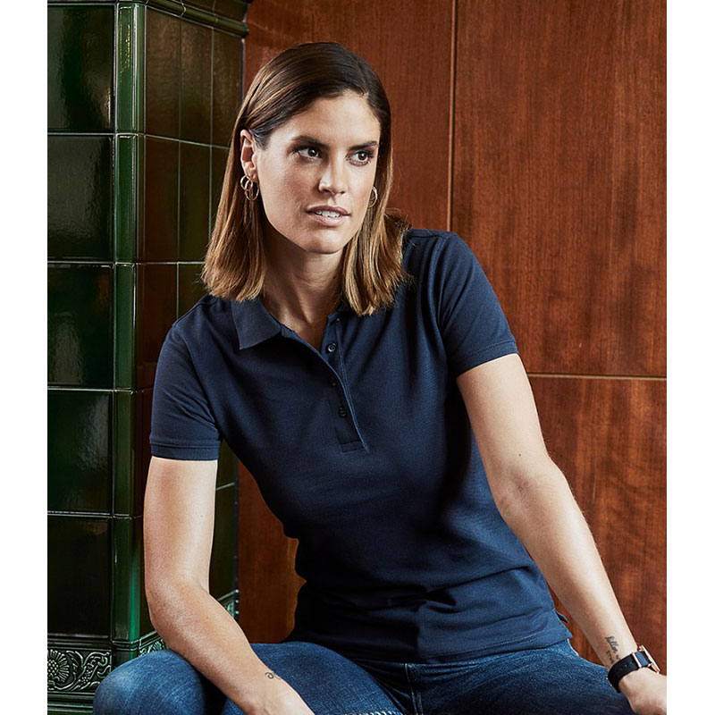 Tee Jays Ladies Heavy Cotton Piqué Polo Shirt