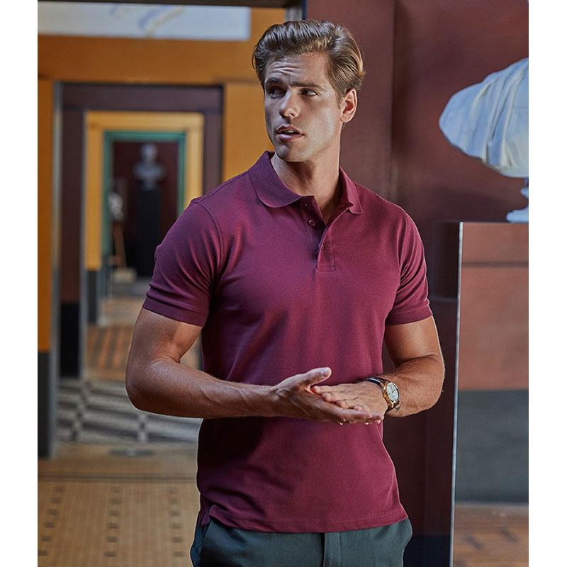 Tee Jays Luxury Stretch Piqué Polo Shirt
