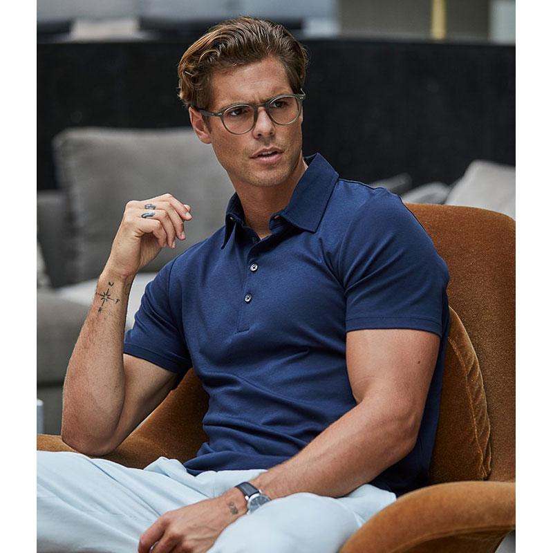 Tee Jays Pima Cotton Interlock Polo Shirt
