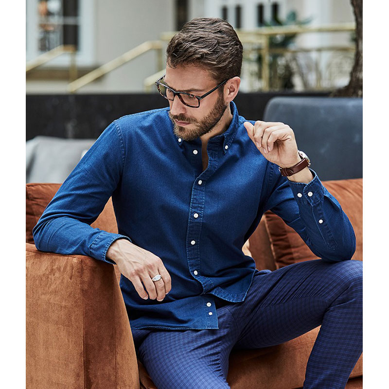 Tee Jays Long Sleeve Casual Twill Shirt