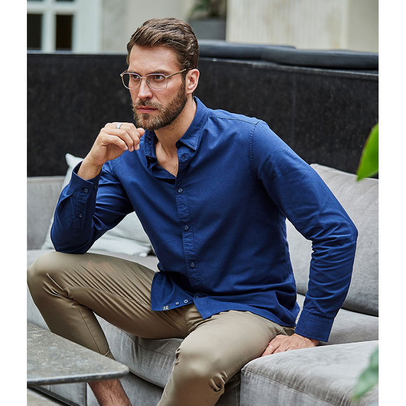 Tee Jays Urban Long Sleeve Oxford Shirt