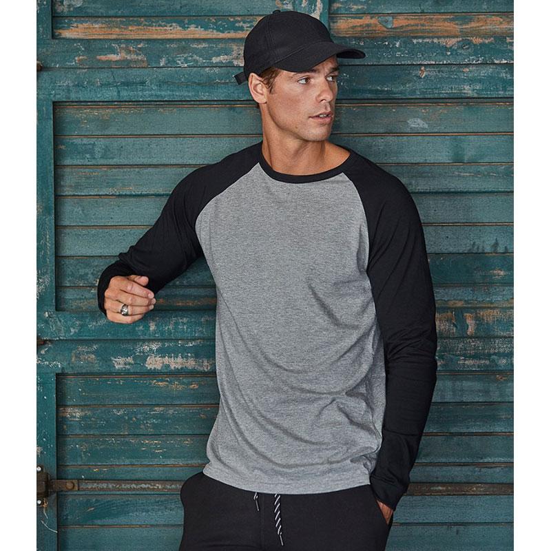 Tee Jays Long Sleeve Baseball T-Shirt