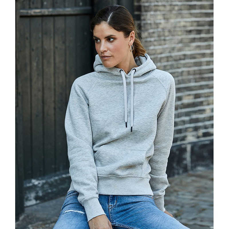 Tee Jays Ladies Raglan Hooded Sweatshirt