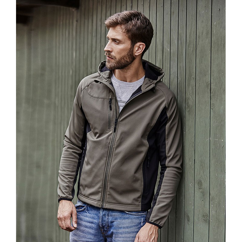 Tee Jays Lightweight Performance Hooded Soft Shell Jacket