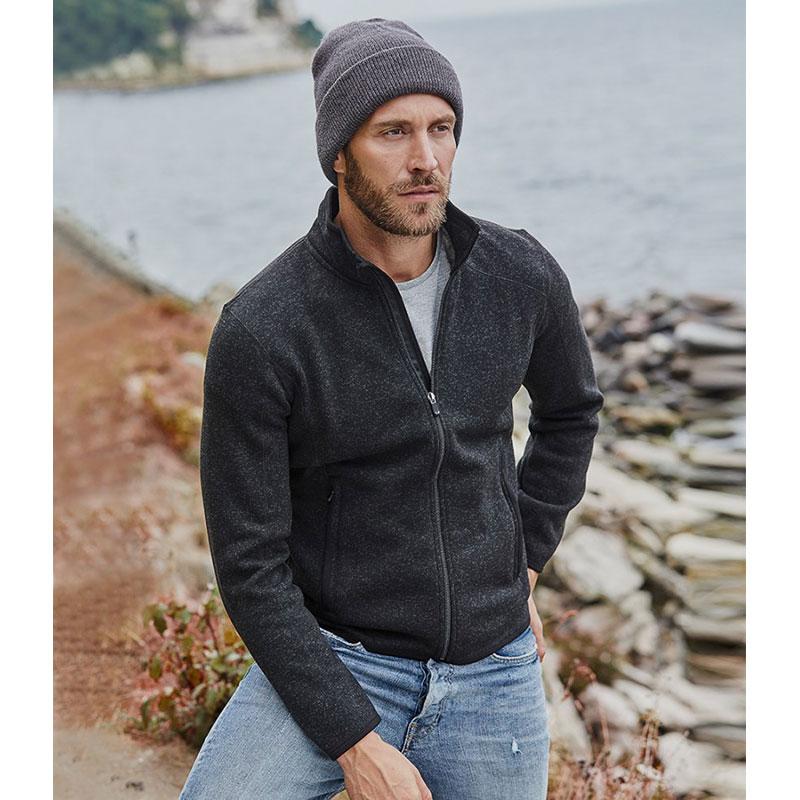 Tee Jays Knitted Outdoor Fleece Jacket