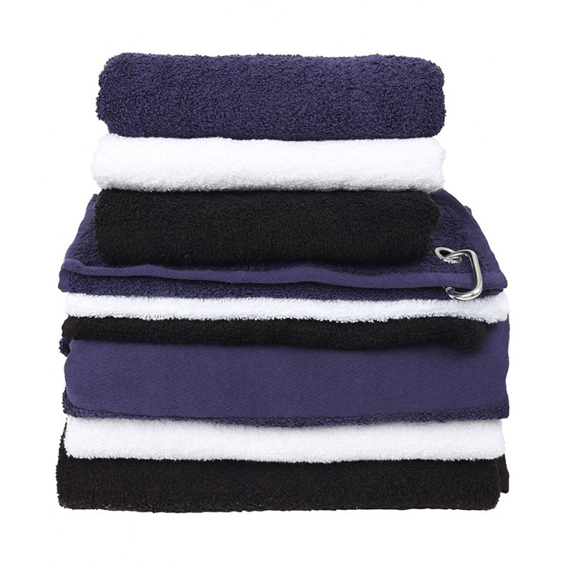Towel City Printable Border Golf Towel