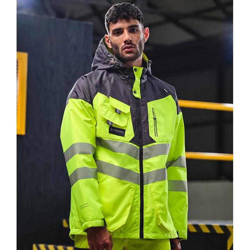 Tactical Threads Hi-Vis Parka Jacket