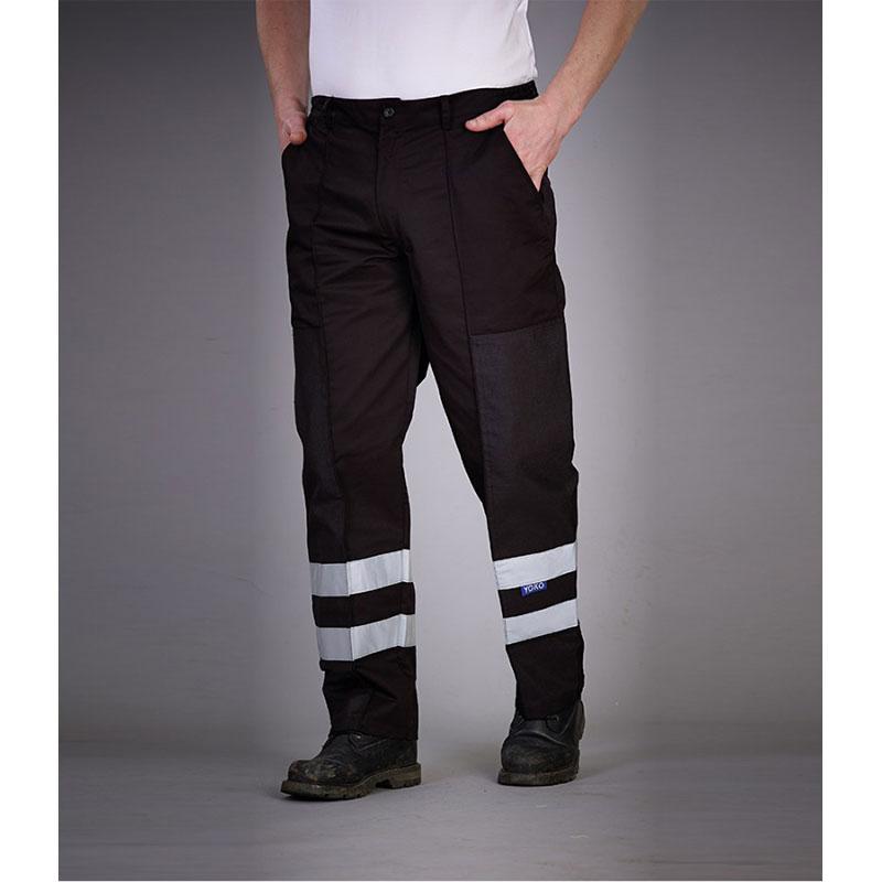 Yoko Reflective Poly/Cotton Ballistic Trousers