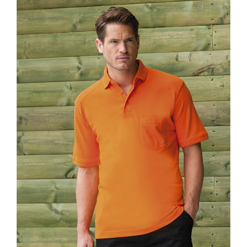 Russell Heavy Duty Pique Polo Shirt