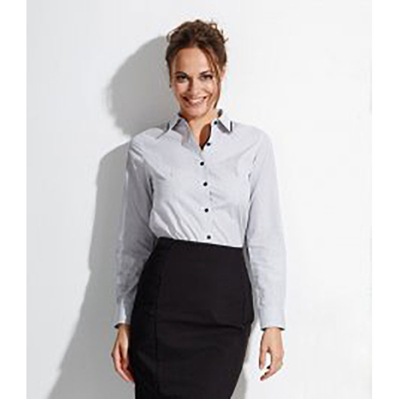 Ladies Baxter Long Sleeve Fitted Shirt