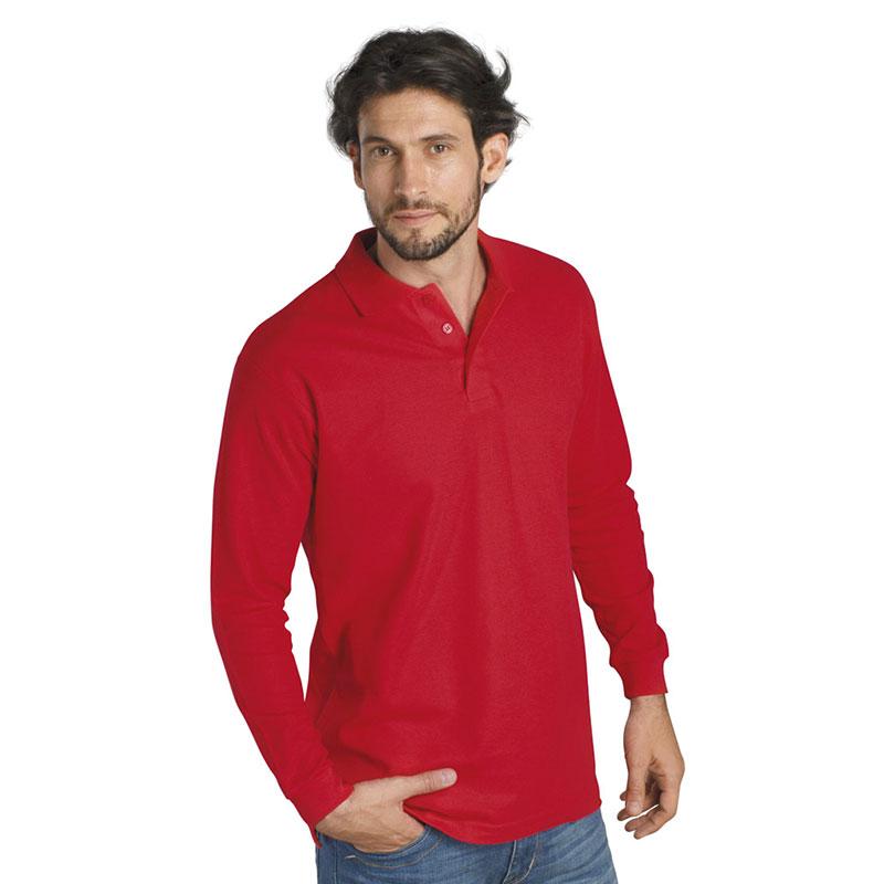 SOL'S Winter II Long Sleeve Cotton Pique Polo Shirt