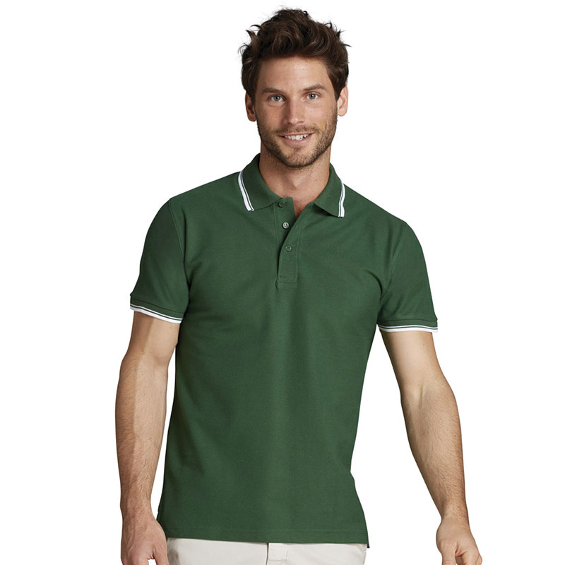 SOL'S Practice Tipped Cotton Pique Polo Shirt