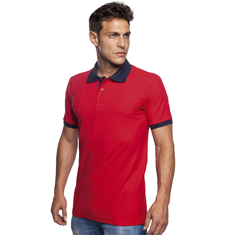 SOL'S Prince Contrast Cotton Pique Polo Shirt