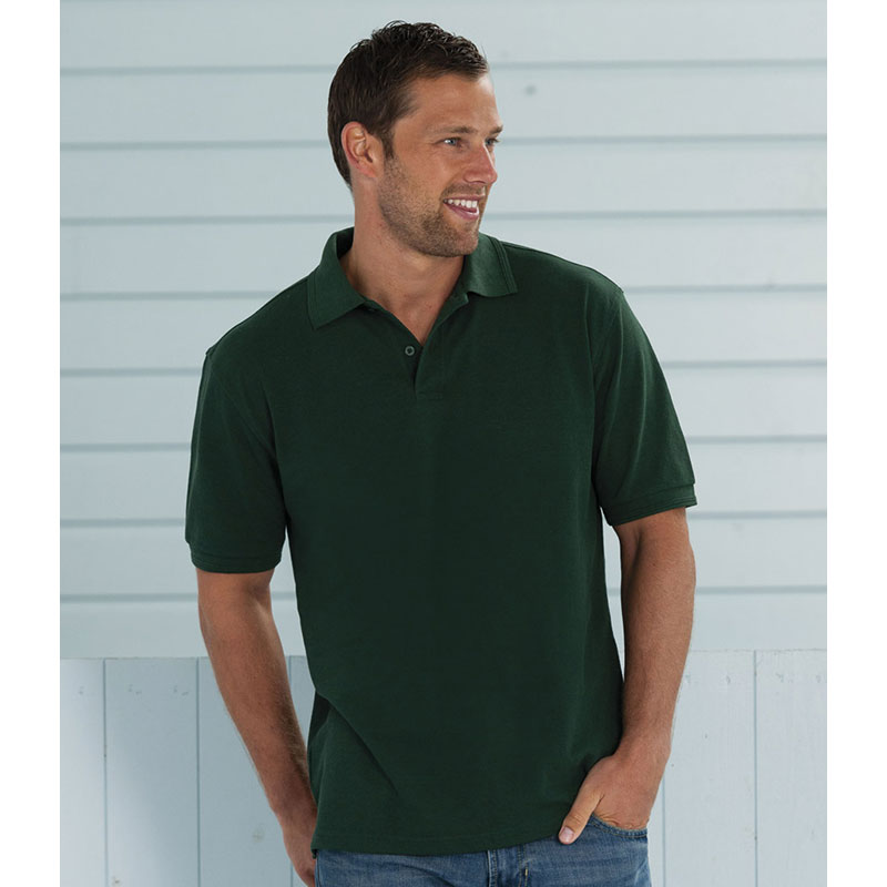 Russell Hardwearing Poly/Cotton Pique Polo Shirt
