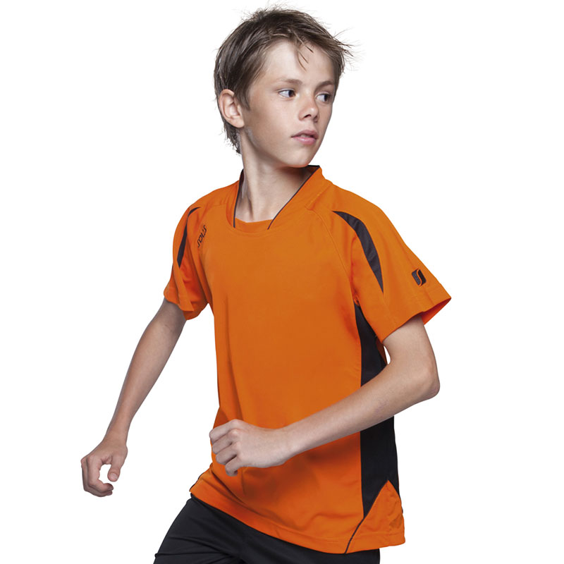 SOL'S Kids Maracana Short Sleeve Football Shirt