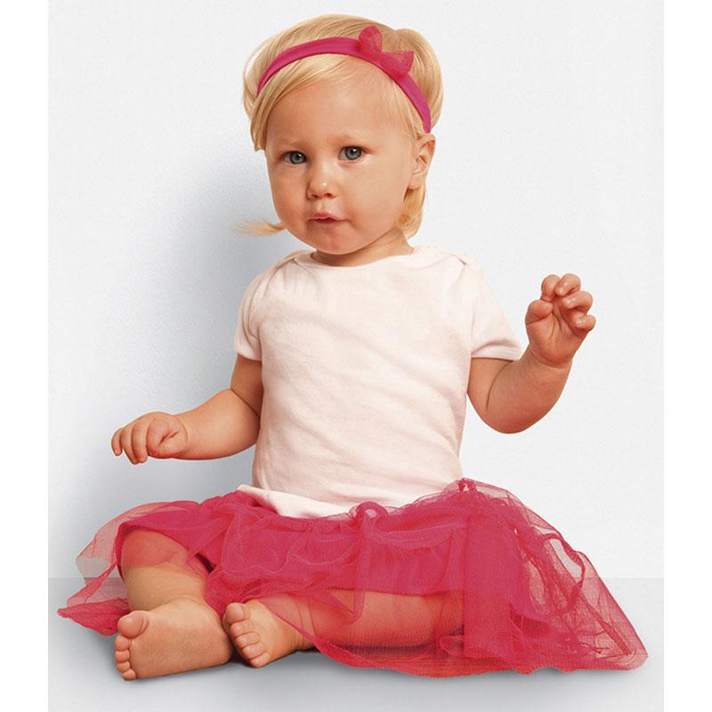 Bella Baby Rib Short Sleeve T-Shirt
