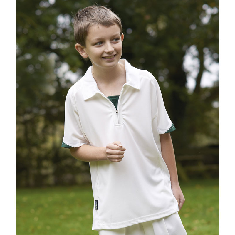 Fearnley Kids F-Tec Pro II Match Cricket Shirt