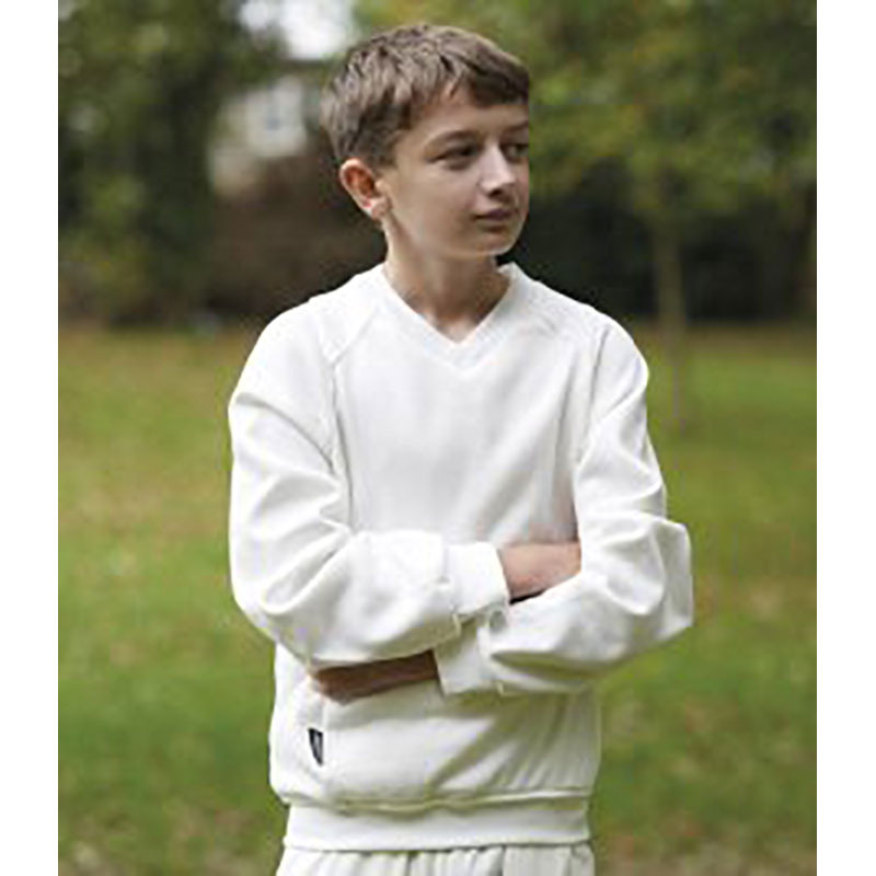 Fearnley Kids F-Tec Pro II Long sleeve Cricket Sweatshirt