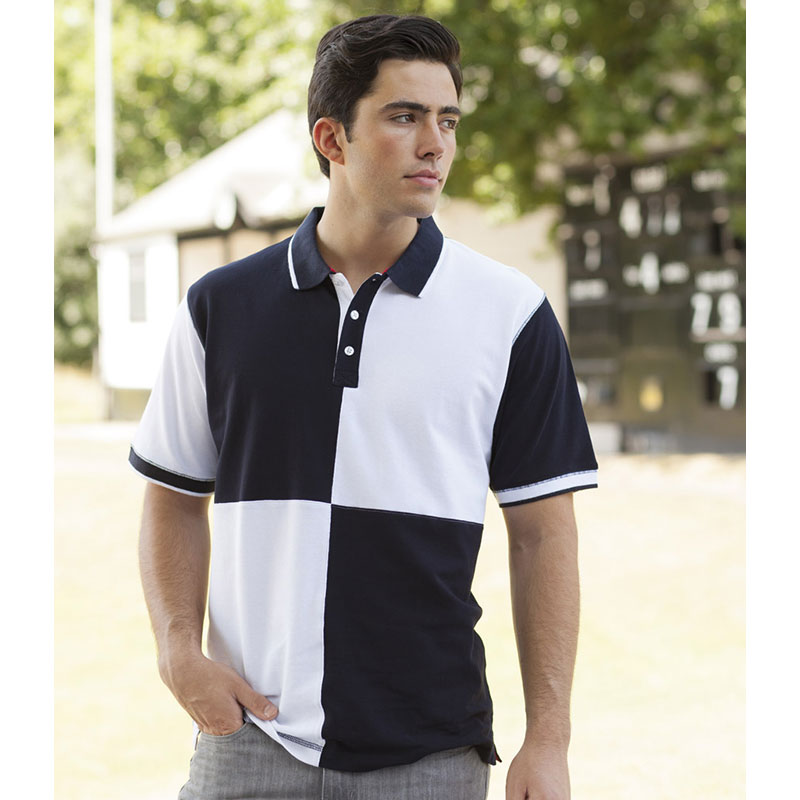 Front Row Quartered House Cotton Polo Shirt