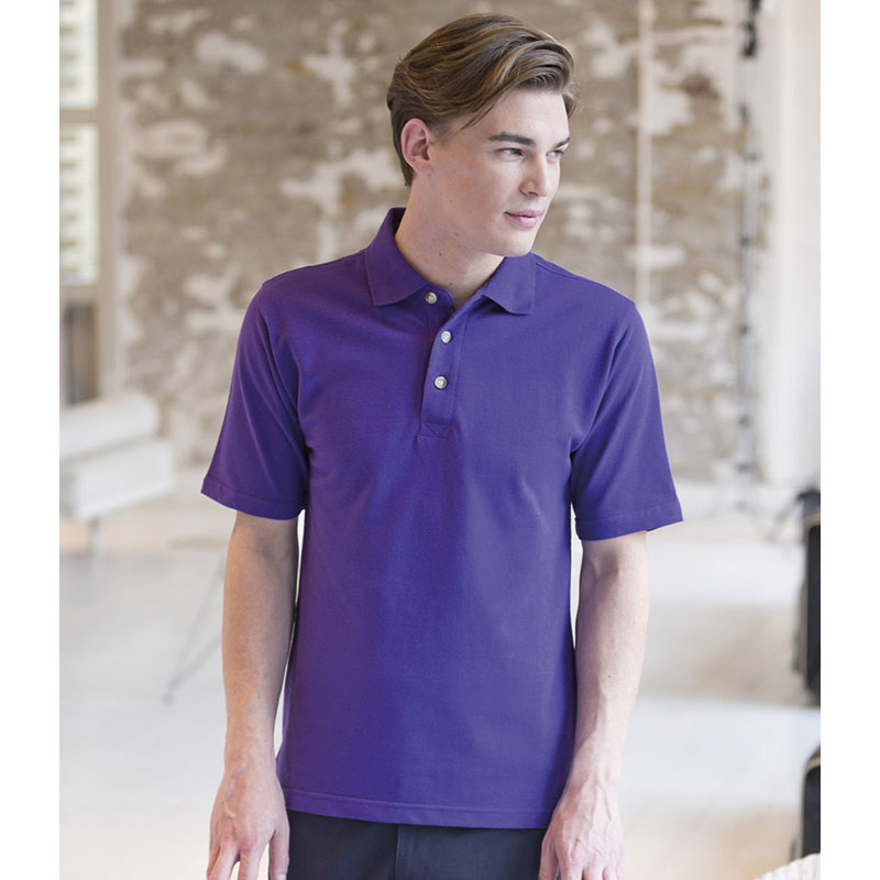 Henbury Classic Heavy Cotton Pique Polo Shirt