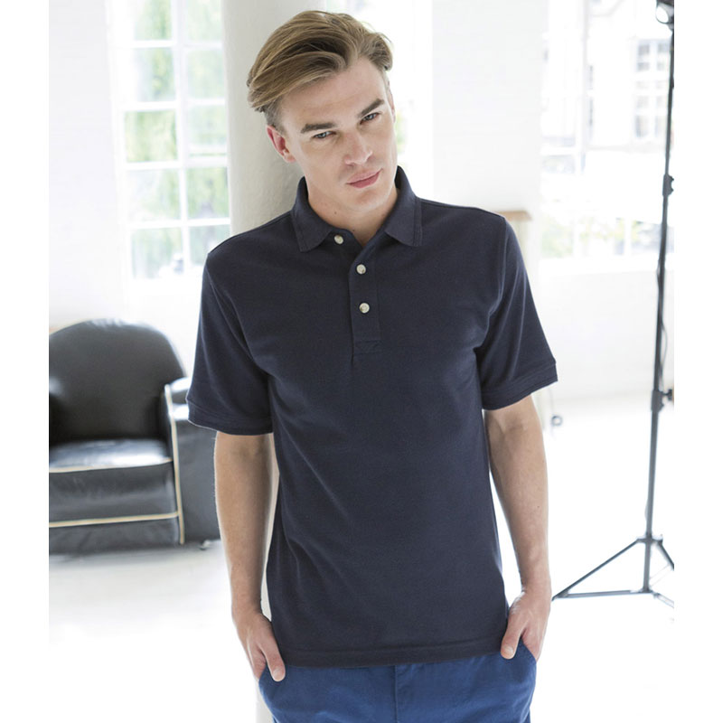 Henbury Ultimate Poly/Cotton Pique Polo Shirt
