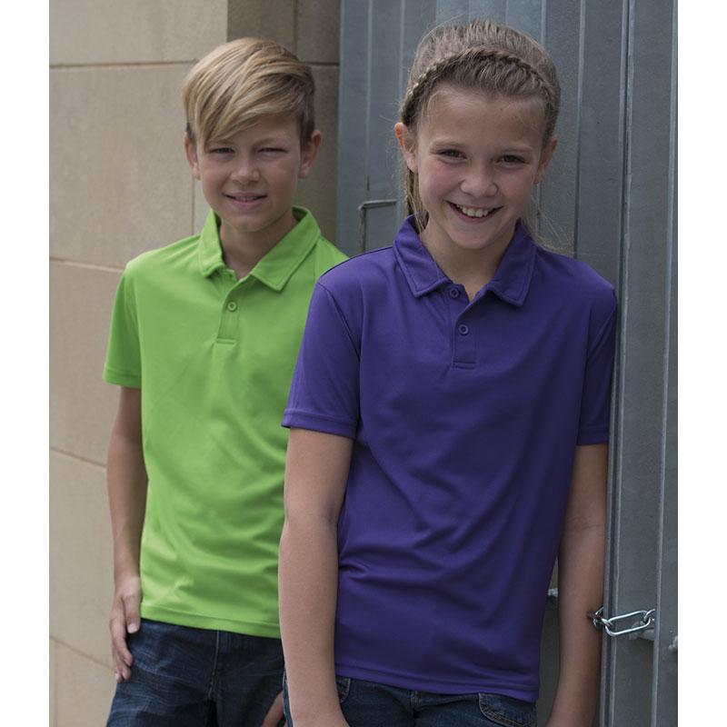 AWDis Kids Just Cool Wicking Polo Shirt