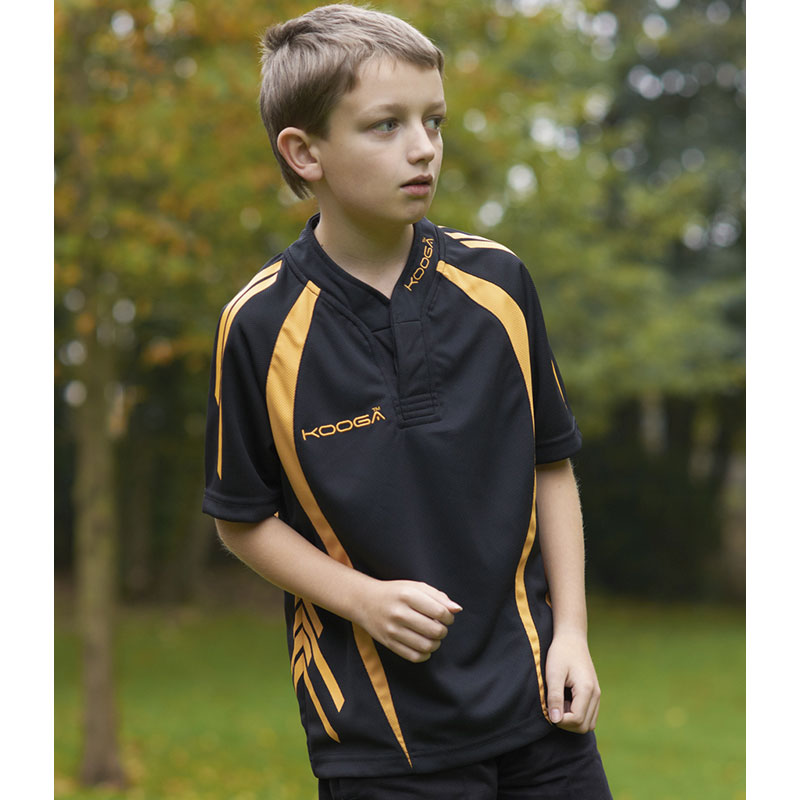 Kooga Kids Evaporex Print/Panel Match Shirt