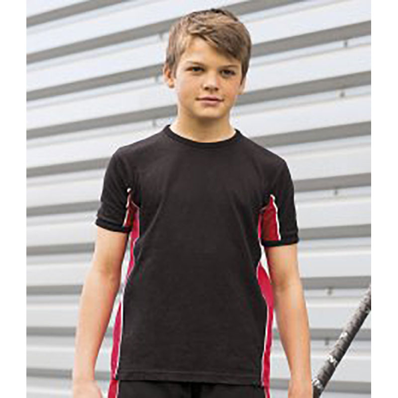 Finden & Hales Kids Performance Panel T-Shirt