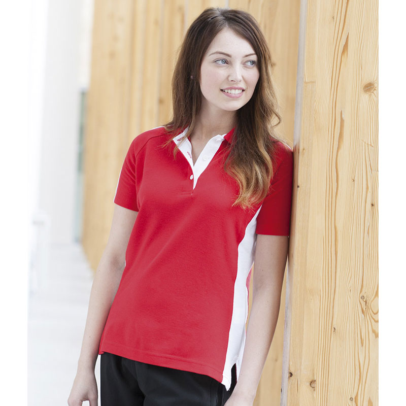 Finden & Hales Ladies Sports Cotton Pique Polo Shirt