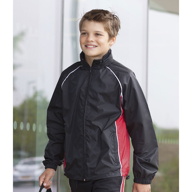 Finden & Hales Kids Showerproof Training Jacket