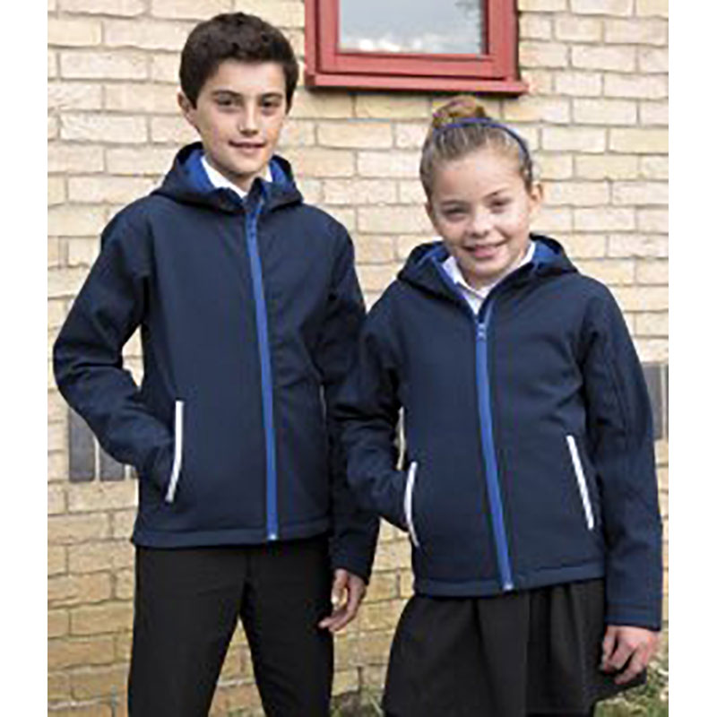 Result Kids TX Performance Hooded Soft Shell Jacket