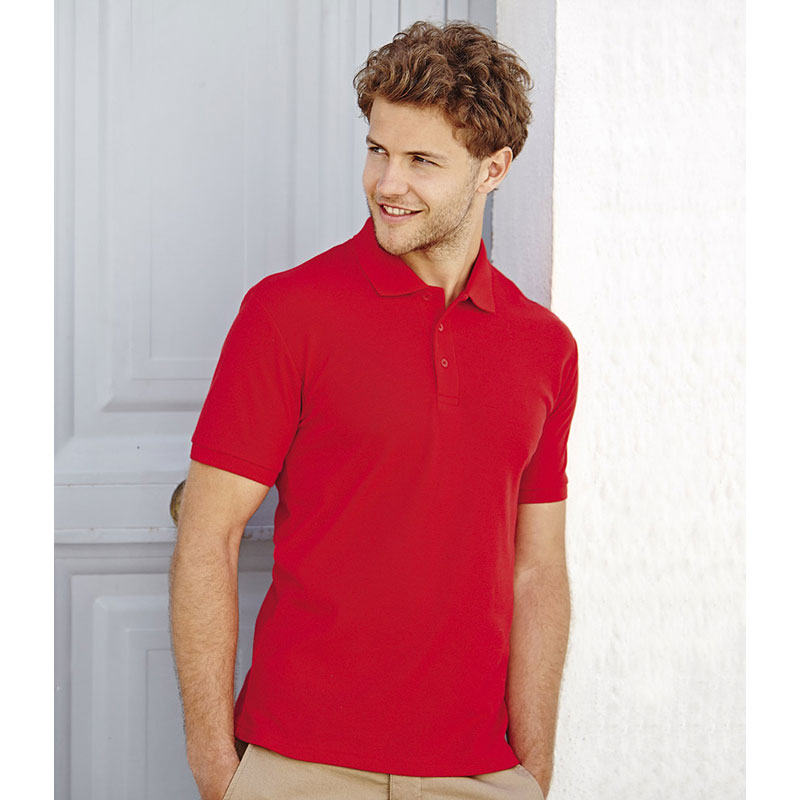 Fruit of the Loom Heavy Poly/Cotton Polo Shirt