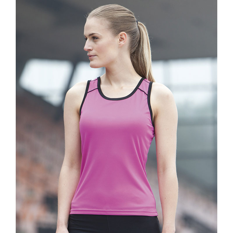 Tombo Teamsport Ladies Running Vest