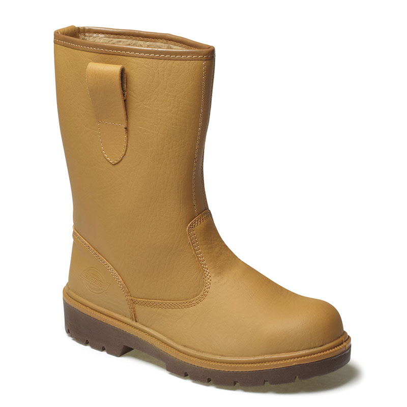 Dickies Safety Rigger Lined Boots
