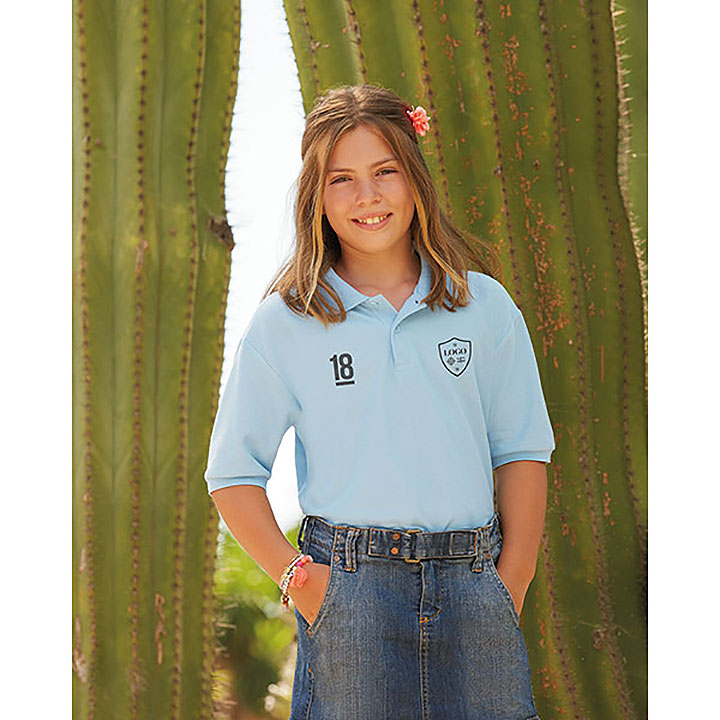 Fruit Of The Loom Childrens 65/35 Pique Polo Shirt