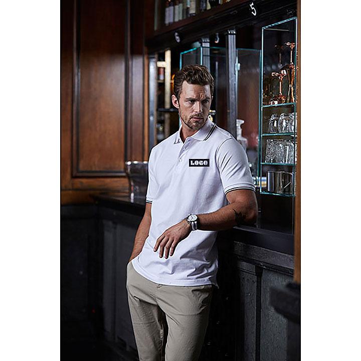 Tee Jays Mens Luxury Stripe Polo