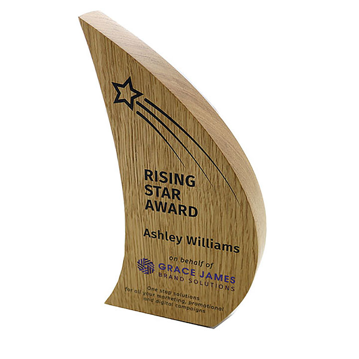 Real Wood Block Award