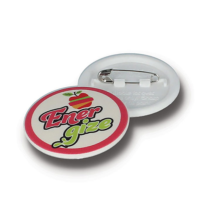 37mm Circular Recycled Button Badge